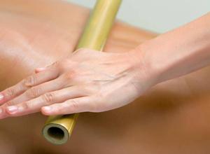 Massage bien-être à St Paul - Massage créatif au bambou